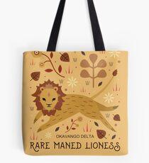 Maned Lioness  Tote Bag