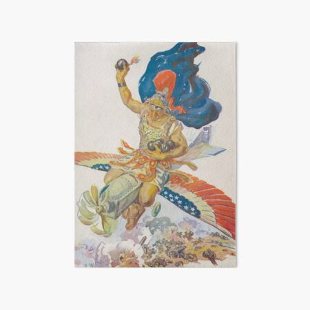 World War I American Airpower Art Art Board Print
