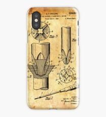 Patent Image - Screwdriver - Ancient Canvas iPhone Case/Skin