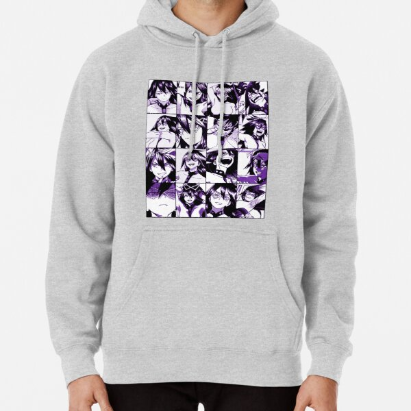 Midnight collage -  color version Pullover Hoodie