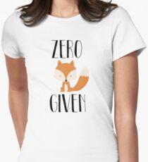 """Zero """"Fox"""" dado Camiseta entallada"""