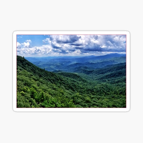 Blue Ridge Mountains Sticker