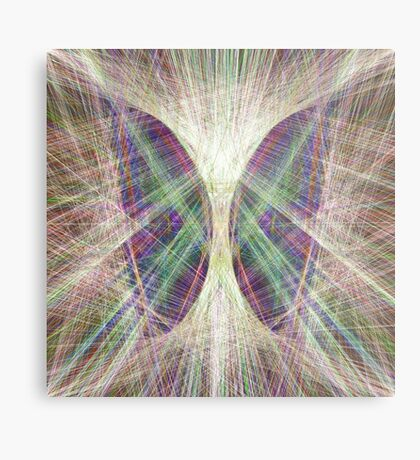 Linify Light butterfly Metal Print