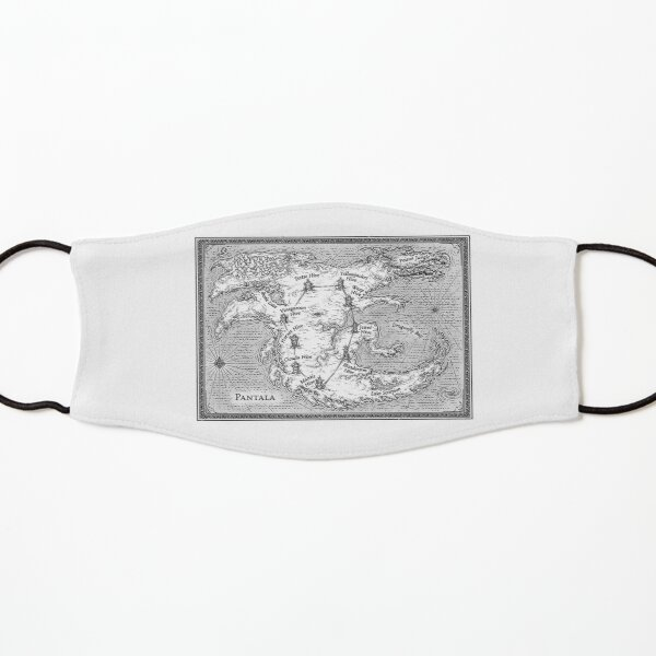Map of Pantala Kids Mask