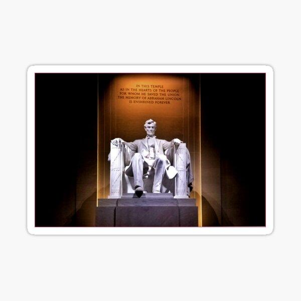 Lincoln Memorial Sticker