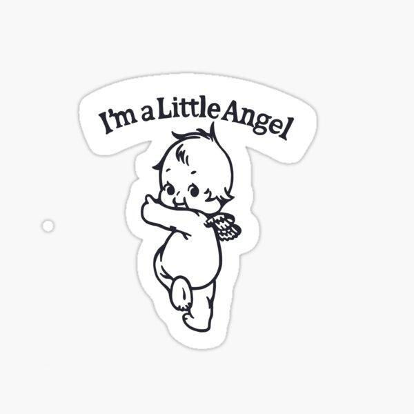 soy un angelito Pegatina
