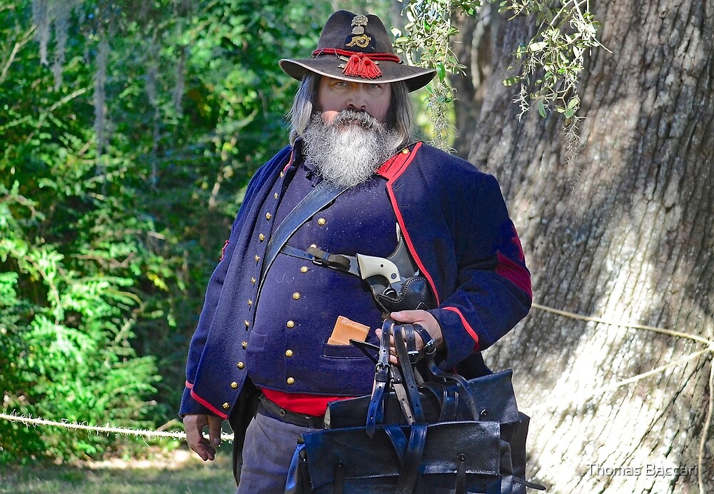 Civil War Soldier by TJ Baccari Photography