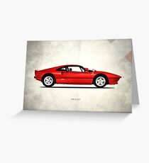 The 288 GTO 1985 Greeting Card