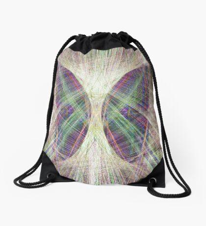 Linify Light butterfly Drawstring Bag