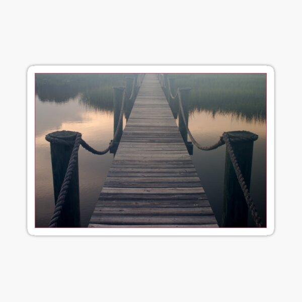 Foggy Dock Sticker