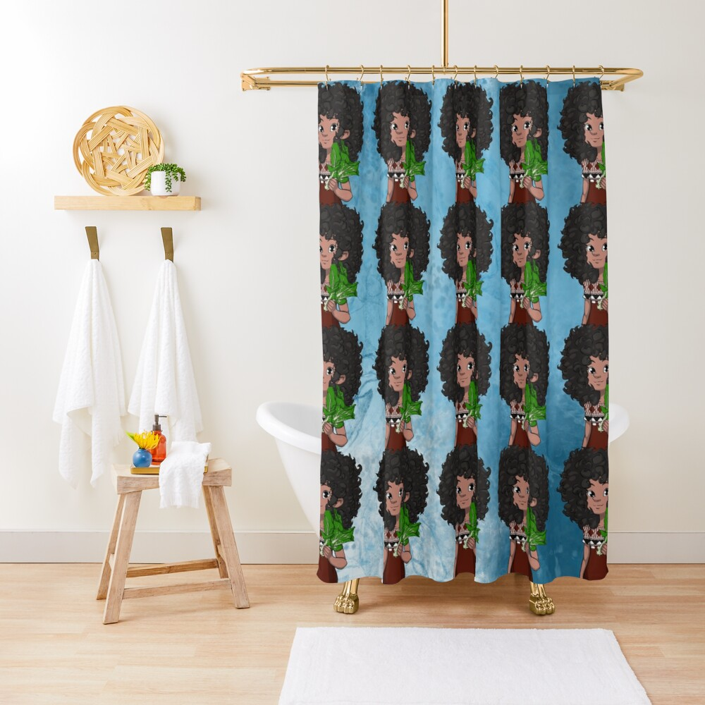 WORLD We Live In REPUBLIC OF FIJI with Dee Shower Curtain