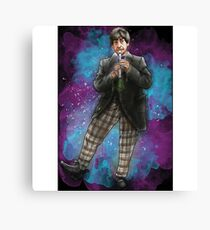 Partick Troughton as Doctor Who Canvas Print
