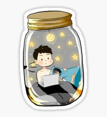Mini Daniel in the jar Sticker