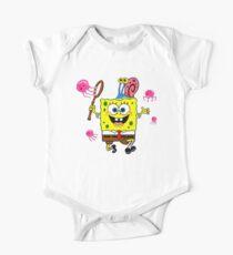 Spongebob Baby Body Kurzarm