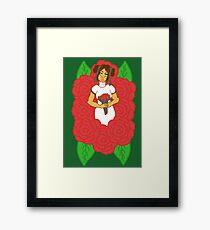 Blushing Bride Framed Print