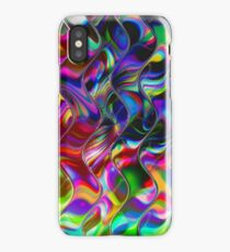 Psychedelic Mirror Waves iPhone Case/Skin