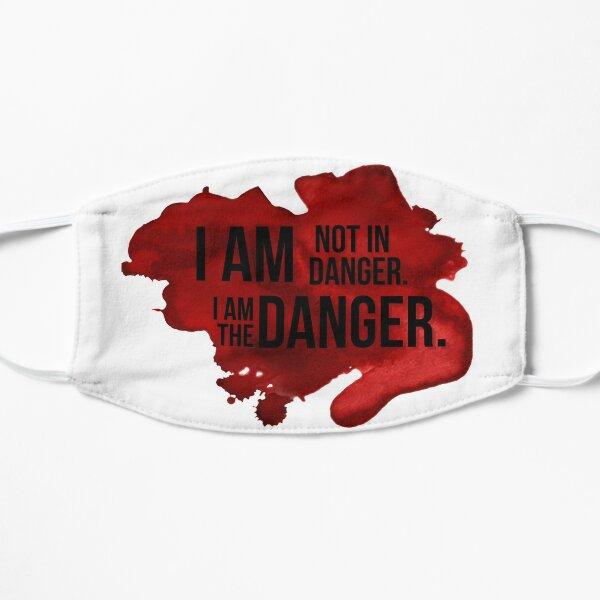 I Am The Danger Flat Mask