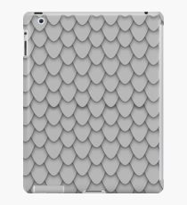 Grey Dragon Scales iPad Case/Skin