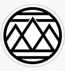 Mountain Emblem Sticker