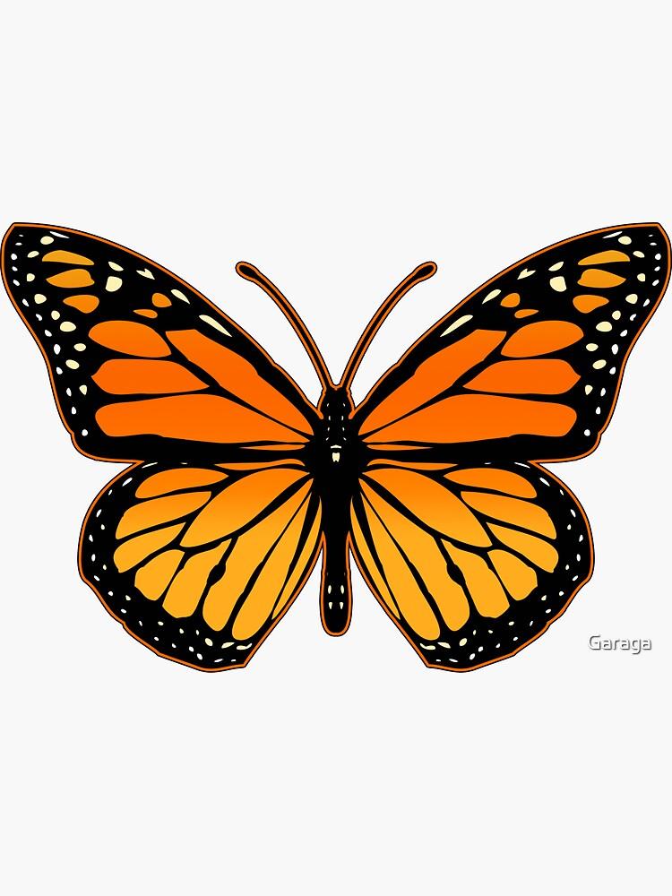 Mariposa monarca de Garaga