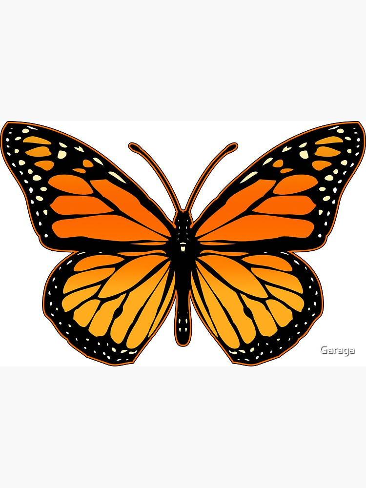 Monarch Butterfly by Garaga