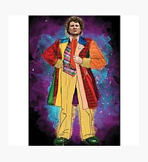 Colin Baker as Doctor Who Photographic Print