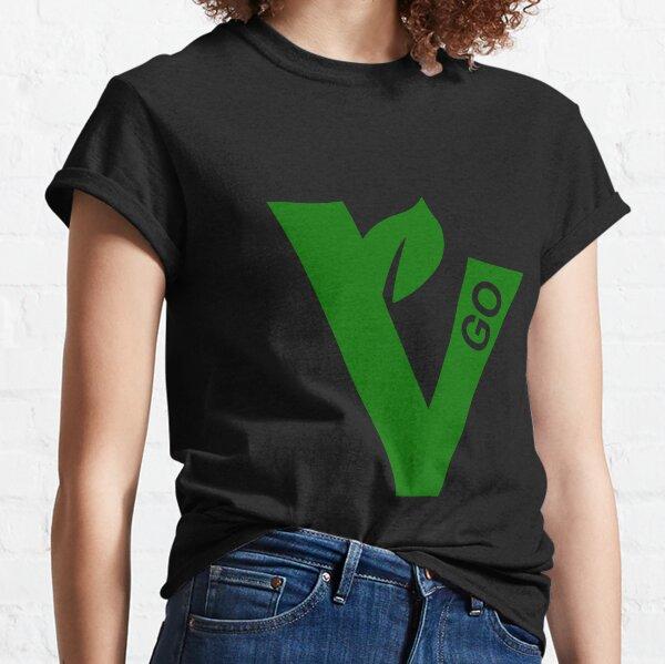V for vegan - dark BG Classic T-Shirt