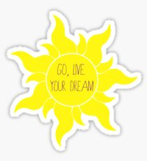Live your Dreams Sticker