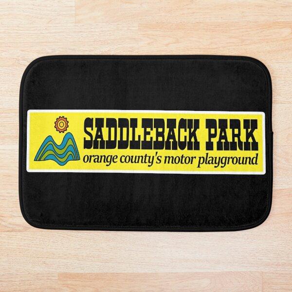 Saddleback Park Orange County's Motor Playground Western Logo Bath Mat