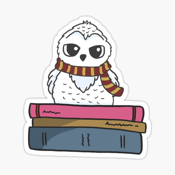 Hedwig the Owl Sticker