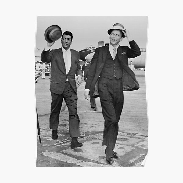 Dean Martin at the airport Poster