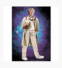 Peter Davidson as Doctor Who Photographic Print