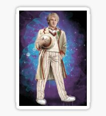 Peter Davidson as Doctor Who Sticker