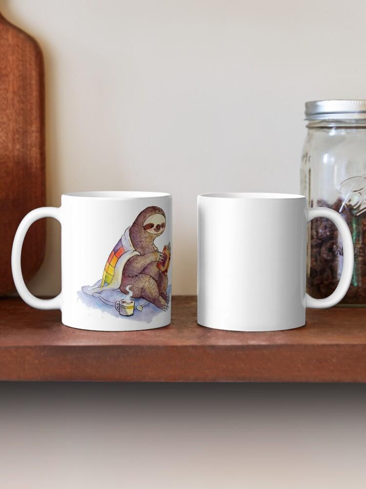 Alternate view of Cozy Sloth Mug