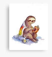 Lienzo Cosy Sloth