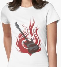 Flaming Guitar T-Shirt