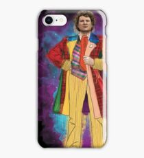 Colin Baker as Doctor Who iPhone Case/Skin