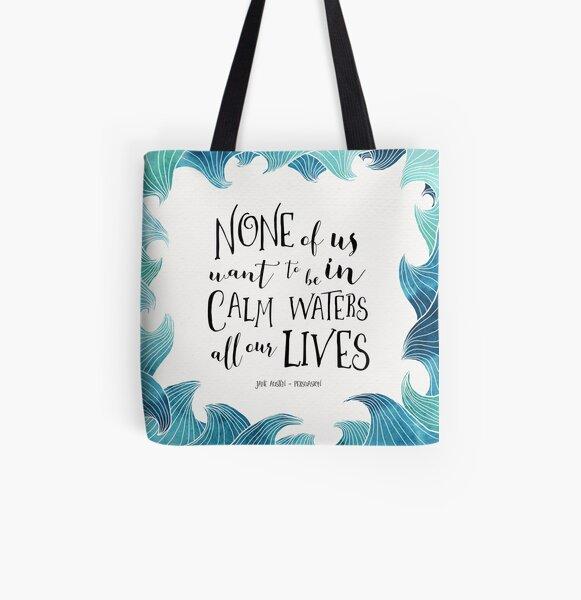 Calm Waters - Persuasion - Austen All Over Print Tote Bag