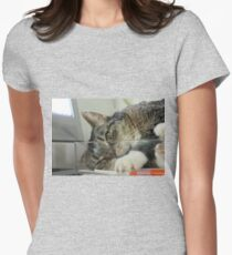 DisTurbing? Or disTurbed? Or just Turbo... Women's Fitted T-Shirt