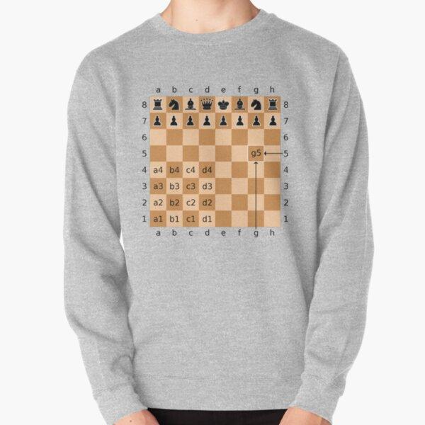 Algebraic Notation - Chess Pullover Sweatshirt
