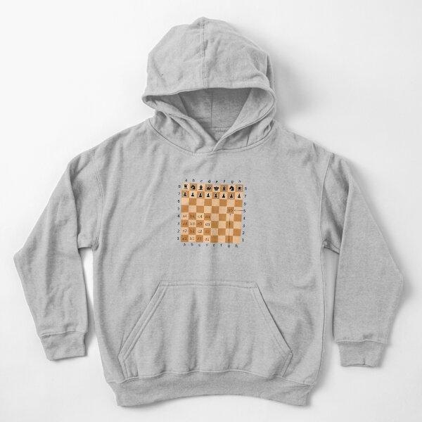 Algebraic Notation - Chess Kids Pullover Hoodie