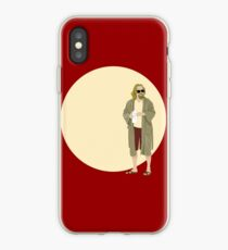 The Dude The big Lebowski Circle iPhone Case