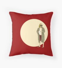 The Dude The big Lebowski Circle Throw Pillow