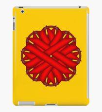 Red Flower Ribbon iPad Case/Skin