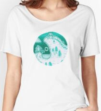 Green Fantasy Landscape  Women's Relaxed Fit T-Shirt