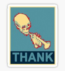Mr. Skeltal Sticker