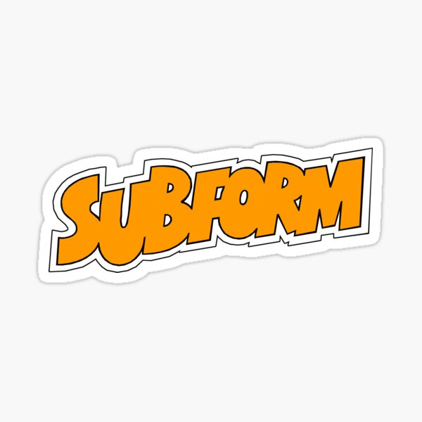 Subform Sticker