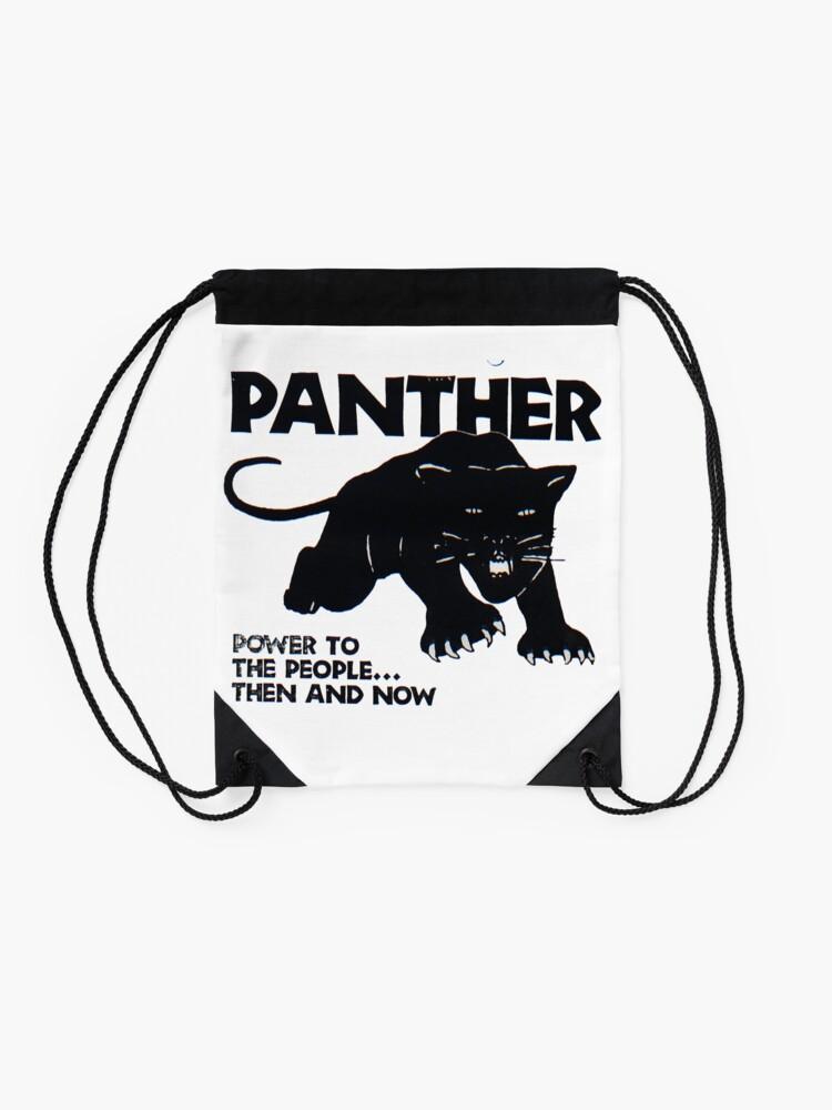 Alternative Ansicht von Schwarze Panther Turnbeutel