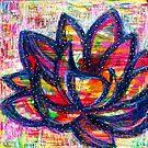 Lotus Life: Inner Power Painting by mellierosetest