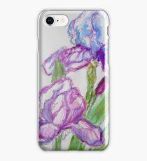 Lavender Iris iPhone Case/Skin